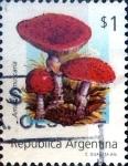 Sellos del Mundo : America : Argentina : Intercambio daxc 1,50 usd 1 peso. 1992