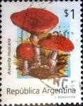 Stamps Argentina -  Intercambio 1,50 usd 1 peso. 1992