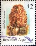Stamps : America : Argentina :  Intercambio nfb 3,00 usd 2 peso. 1992