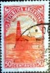 Sellos de America - Argentina -  Intercambio 0,20 usd  50 cent. 1936