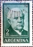 Sellos de America - Argentina -  Intercambio 0,20 usd  2 pesos 1964
