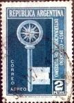 Sellos de America - Argentina -  Intercambio 0,20 usd  2 pesos 1957