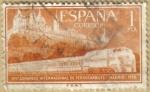 Stamps : Europe : Spain :  Ferrocarril y El Escorial