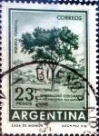 Stamps : America : Argentina :  Intercambio nfb 0,20 usd  23 pesos 1965