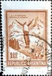 Sellos de America - Argentina -  Intercambio 0,20 usd  1 peso 1971