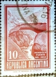 Sellos de America - Argentina -  Intercambio 0,20 usd  10 cent. 1971