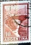Stamps Argentina -  Intercambio 0,20 usd  10  pesos 1970