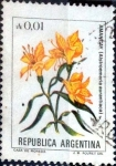 Sellos de America - Argentina -  Intercambio 0,20 usd 1 cent. 1985