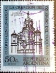Stamps : America : Argentina :  Intercambio daxc 0,20 usd 50 cent. 1970