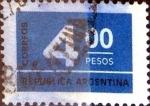 Sellos de America - Argentina -  Intercambio 0,20 usd 4 pesos 1976