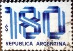 Sellos de America - Argentina -  Intercambio 0,20 usd 180 pesos 1978