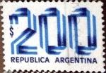 Sellos del Mundo : America : Argentina : 200 pesos 1978