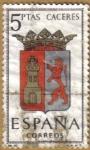 Sellos de Europa - España -  CACERES - Escudos Provincias España