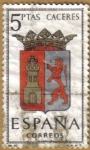 Stamps Spain -  CACERES - Escudos Provincias España
