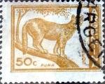 Stamps Argentina -  Intercambio 0,20 usd 50 cent. 1960