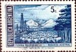 Sellos de America - Argentina -  Intercambio 0,20 usd 5 cent. 1941