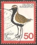Sellos de Europa - Alemania -  goldregenpfeifer-chorlito dorado
