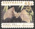 Sellos del Mundo : Oceania : Australia : Ghost bat-murciélago fantasma