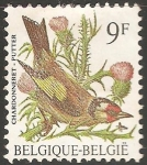 Stamps : Europe : Belgium :  chardonneret putter-élégant Jilguero