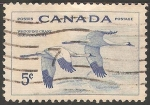 Stamps Canada -  whooping crane grue blanche