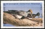 Sellos del Mundo : Asia : Corea_del_norte : dryocopus richardsi tristram-pájaro carpintero