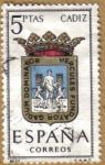 Sellos de Europa - España -  CADIZ - Escudos Provincias España