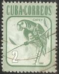 Stamps : America : Cuba :  Parakeet-periquito