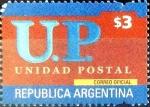 Sellos del Mundo : America : Argentina : Intercambio daxc 2,25 usd 3 peso 2002