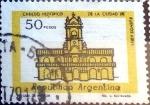 Sellos de America - Argentina -  Intercambio 0,20 usd 50 peso 1977