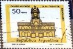Stamps Argentina -  Intercambio 0,20 usd 50 peso 1977