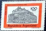 Sellos de America - Argentina -  Intercambio 0,20 usd 100 peso 1977