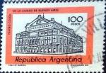 Sellos del Mundo : America : Argentina : Intercambio 0,20 usd 100 peso 1977