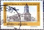 Sellos de America - Argentina -  Intercambio 0,20 usd 300 peso 1977