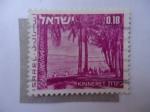 Stamps Israel -  Aldea de,Kinneret. (Scott/Is: 464)