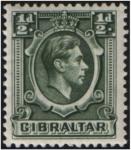 Stamps Gibraltar -  George VI