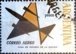 Stamps : America : Argentina :  Intercambio nfb 0,20 usd 7 pesos. 1964