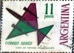 Sellos del Mundo : America : Argentina : Intercambio 0,25 usd 11 pesos. 1963