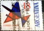 Sellos del Mundo : America : Argentina : Intercambio 0,35 usd 18 pesos. 1963