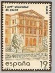 Sellos de Europa - España -  1er. centenario Universidad de Deusto