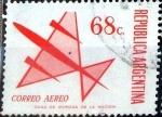 Sellos del Mundo : America : Argentina : 68 pesos. 1971