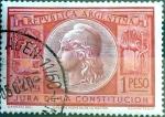 Sellos de America - Argentina -  Intercambio 0,20 usd 1 peso 1949