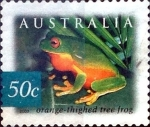 Stamps Australia -  Intercambio 0,70 usd 50 cent. 2003