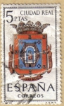 Sellos de Europa - España -  CIUDA REAL - Escudos Provincias España