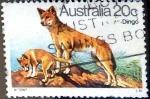 Stamps Australia -  Intercambio 0,20 usd 20 cent. 1980
