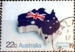 sellos de Oceania - Australia -  Intercambio aexa 0,20 usd 22 cent. 1981