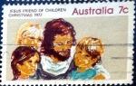 Sellos de Oceania - Australia -  Intercambio 0,20 usd 7 cent. 1972