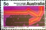 sellos de Oceania - Australia -  Intercambio 0,20 usd 5 cent. 1970