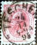 Sellos del Mundo : Oceania : Austria :  Intercambio ma4s 0,30 usd 5 kr. 1890