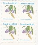 Sellos del Mundo : America : Brasil : flores- clitoria