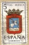 Stamps Spain -  HUESCA - Escudos Provincias España